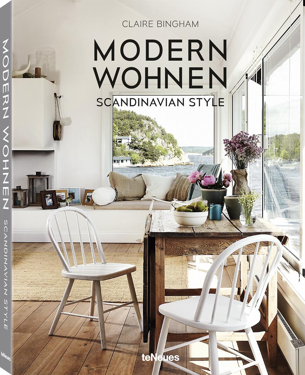 »Modern Wohnen – Scandinavian Style« von Claire Bingham, teNeues.