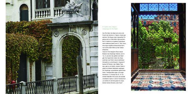 »Die Gärten von Venedig«, Norbert Heyl und Cristina Gregorin, Terra Magica Verlag, 2017. Im Garten der Peggy Guggenheim Collection.