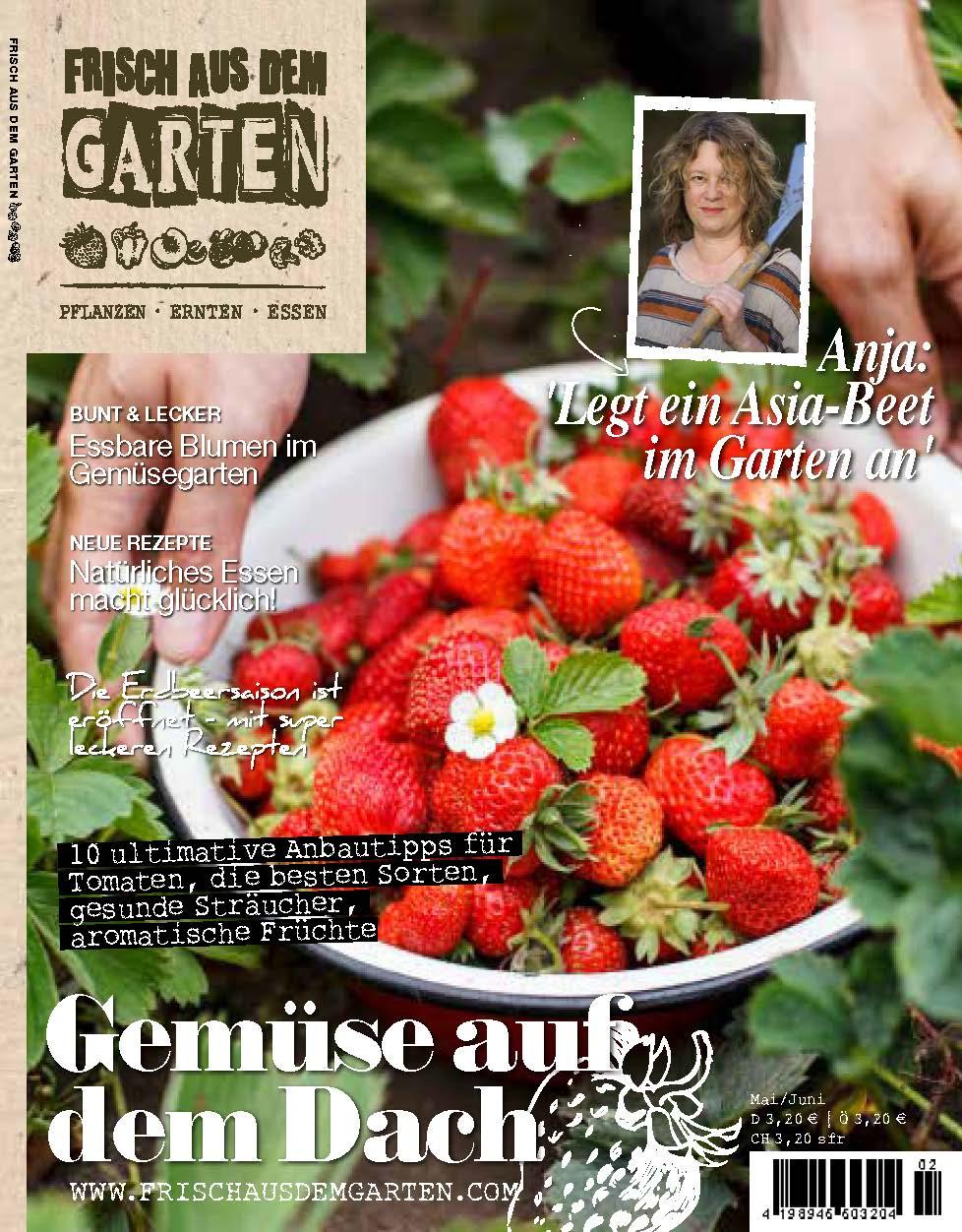 »Frisch aus dem Garten«, Anja Klein