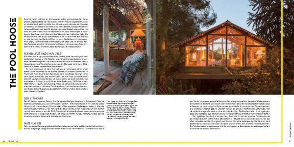 Das Poolhaus im Garten in Tiny Houses von Jane Field-Lewis, Rezension ist von wohnbuchbüro, Knesebeck Verlag 2017