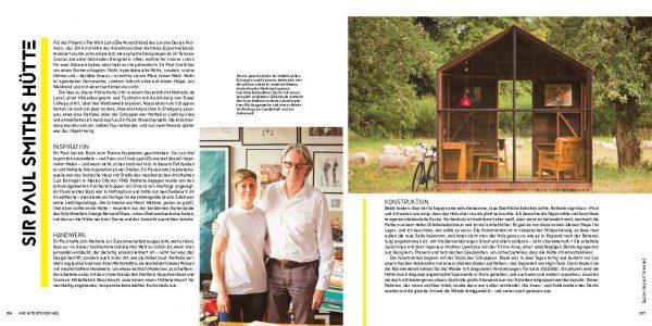 Ort der Inspiration, ein Geräteschuppen in Tiny Houses von Jane Field-Lewis, von Knesebeck Verlag 2017. Die Rezension ist von wohnbuchbüro,