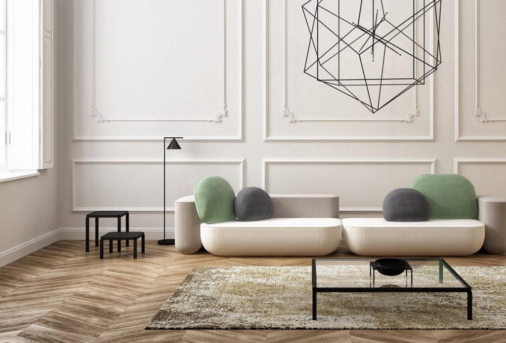 Farben Wohntrends 2018 Minimalismus x Soft vom wohnbuchbüro
