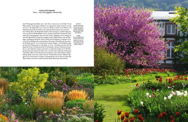 »Romantische Gartenreisen in Deutschland«, Callwey Verlag