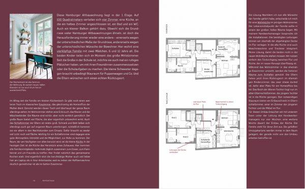 »Aus 4 Zimmern mach 6 Räume« von Sabine Stiller. Wohnkonzepte für Familien. Prestel