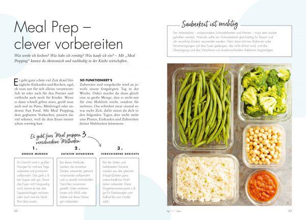 Meal Prepping für ein grünes Zuhause aus »My green home« von Christine Weidenweber, Jana Wischnewski-Kolbe, Anne Peter