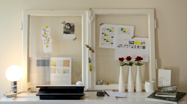 Arbeitsplatz wohnbuchbüro