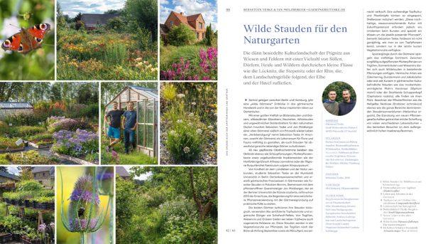 Gärtnerei Teske in Das grosse Buch der und Gärtner von Anja Birne, Marion Nickig, Callwey 2021