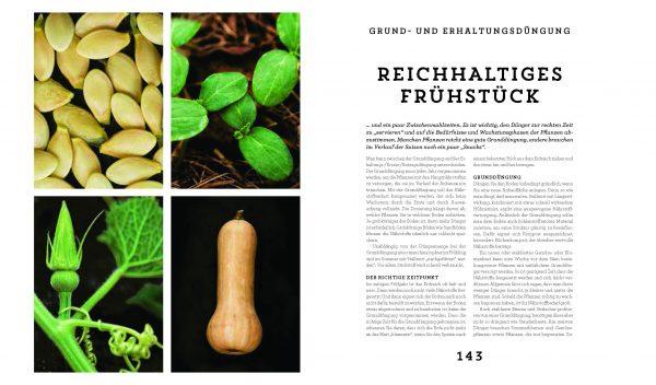 Das Buch »Dünger« aus dem Kosmos Verlag 2017 on Tina Råman, Ewa-Marie Rundquist und Justine Lagache. Reichhaltiges Frühstück für den Boden