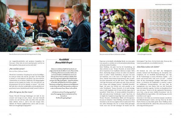 Gastgeberin Mechthild Hauschild-Rogat im Buch »Willkommen bei großartigen Gastgeberinnen« von Manuela von Perfall und Anja Hölper, aus dem Callwey Verlag 2017.