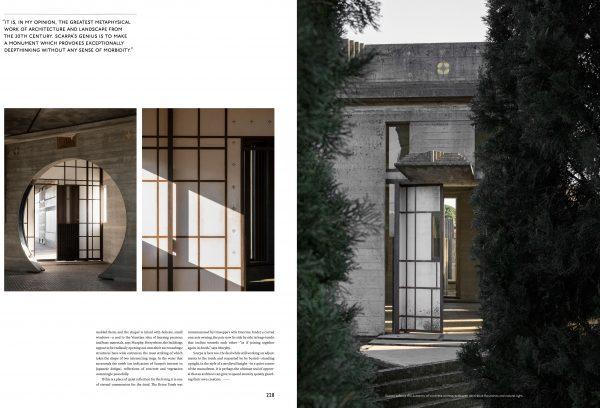 Tomba Brion - das Mausoleum, ein Ort der Gemeinschaft. Foto von Christian Møller Andersen, »TheTouch« von Kinfolk und Norm Architects, Gestalten Verlag 2019