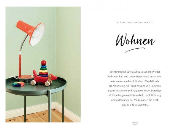 Wohnen für Minimalisten in der Familie »Einfach Familie leben« von Susanne Mierau, Milena Glimbovsk