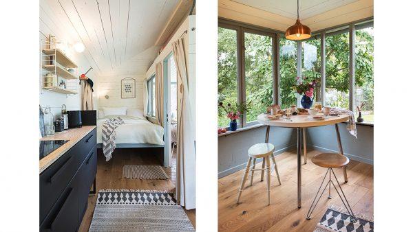 Anka Rehbock Gartenhaus - innen aus Jana Henschel, Ulrike Schacht: »Gartenglück«, Callwey 2021