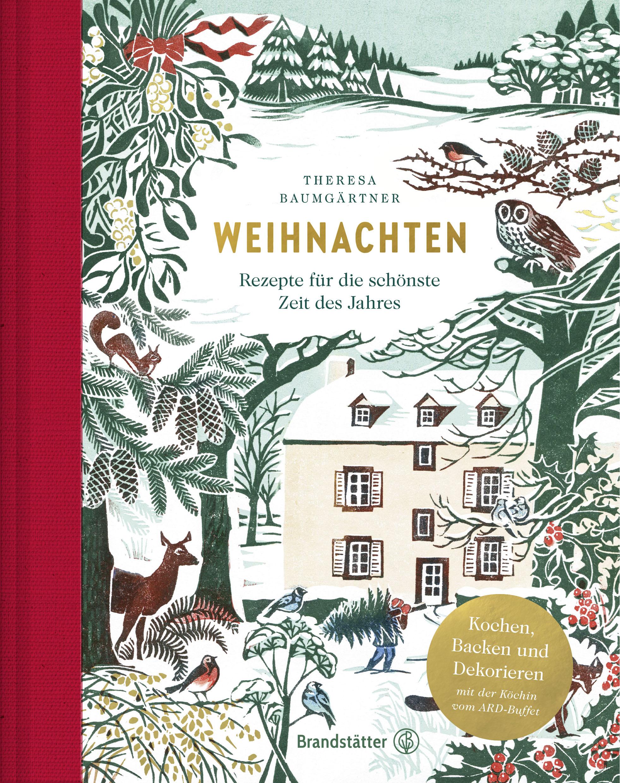 Cover Fotografien von Melina Kutelas aus dem Buch »Weihnachten« von Theresa Baumgärtner, Brandstätter, 2018.